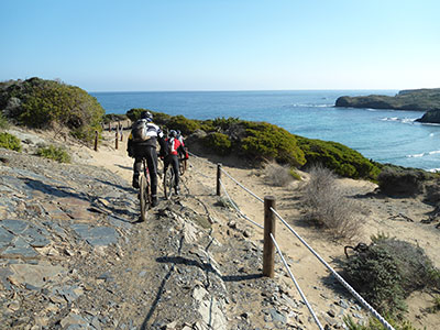 MOUNTAIN BIKE TOURS MENORCA